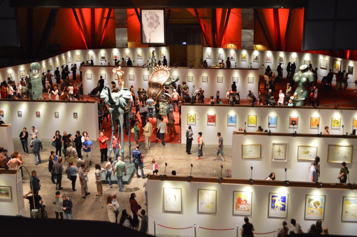 Salvador Dali Exhibition