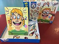 jeu d'agencement permettant de créer plusieurs visages