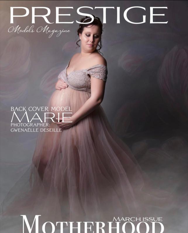 Deuxieme de couverture Prestige Models Magazine