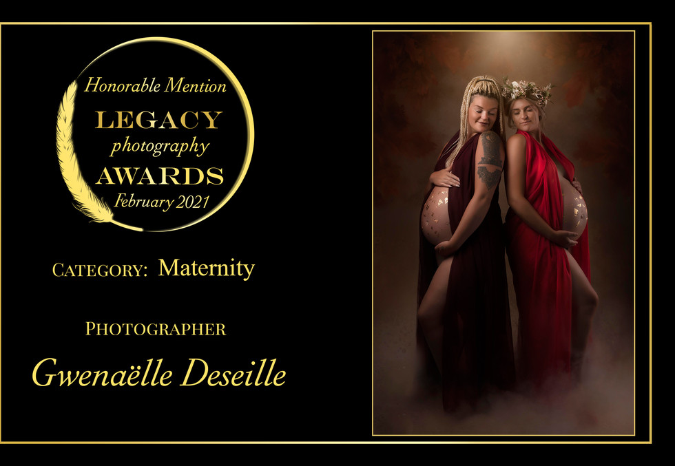 Legacy Photography Awards Honorable Mention