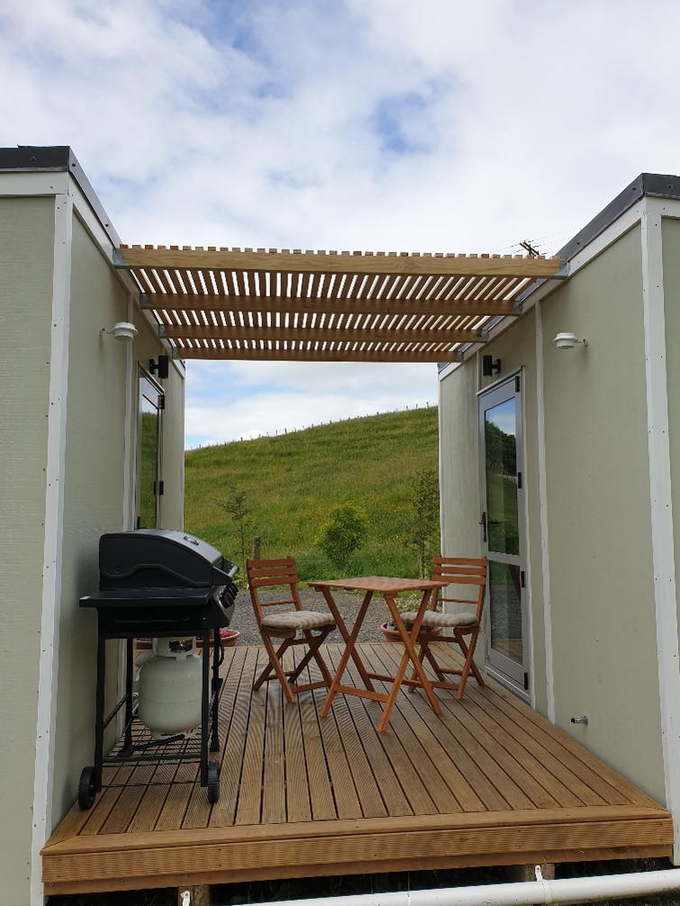 Private deck with use of BBQ