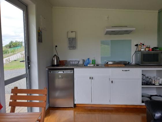 Kitchenette in Kitchen Cabin