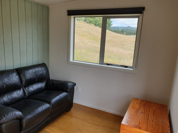 Seating area in Kitchen cabin
