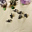 Thumbnail: Hair Jewelry|Mini Multi-Colored Light weight Hematite| 6 pieces