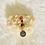Thumbnail: Hair Jewelry|Red Jasper & Hematite w/ Aries Charm
