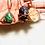 Thumbnail: Malachite Triangle Copper Pendant