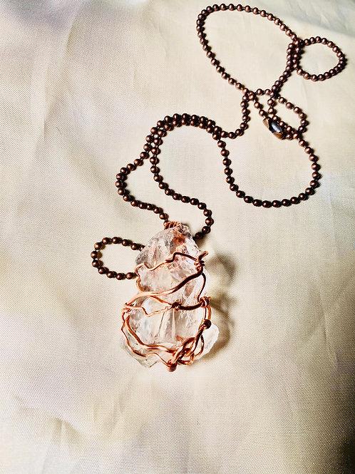 Opal Pendant w/ Copper