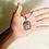 Thumbnail: Small Pyrite Pendant w/ Multicolored Copper