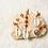 Thumbnail: HAIRJEWELRY: Red Jasper 6 pcs Copper Set|Small