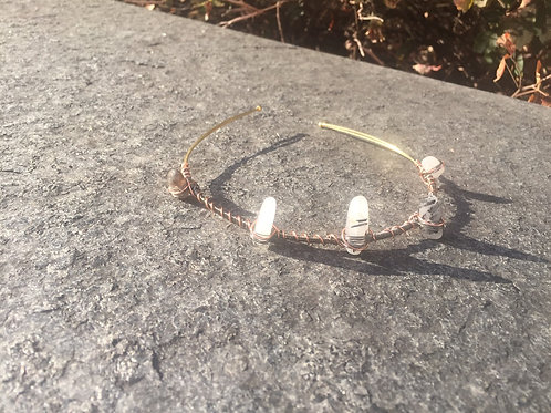 Tourmaline Quartz Mermaid Crown