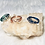 Thumbnail: RINGS: Ankh Charm w/ Color Copper Ring Multiple Sizes
