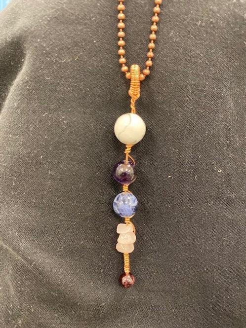 Chakra Aligned 1 Handmade Pendant