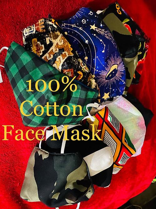 Large Random Face Mask|Our Pick|