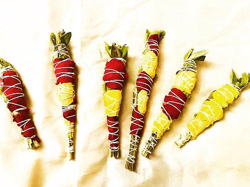 Fresh Sage Sticks (2) Bundles| Sage, Lavendar & Rosemary
