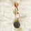 Thumbnail: Hair Jewelry|Rose Quartz w/ Pisces Charm