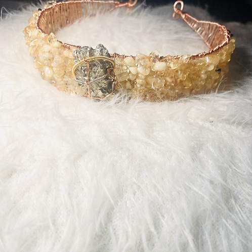 Prosperity & Wealth Headband Crown (Solar Plexus)