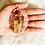 Thumbnail: RAW Tiger Eye Pendant w/ Copper (Large)