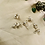 Thumbnail: Hair Jewelry|Mini Multi-Colored Light weight Silver| 6 pieces