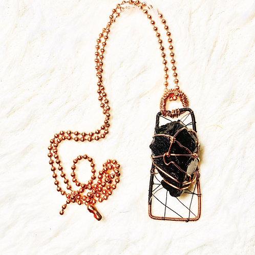 Black Tourmaline Pendant (Large)