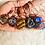Thumbnail: Small Magnetic Hematite Pendant w/ Green Copper