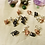 Thumbnail: Hair Jewelry|Mini Multi-Colored Light-weight Copper 18 pieces