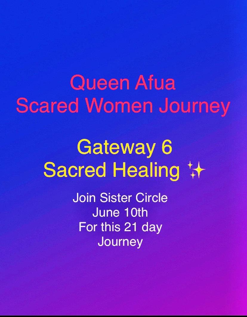 Sacred Healing Women Circle June 2021