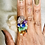 Thumbnail: RINGS| 7 Chakras with Copper Size 8