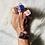 Thumbnail: RINGS: Rose Quartz with  Copper Size 8 (Large)