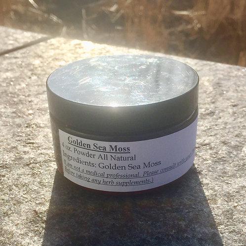 Golden Sea Moss Powder 4 oz