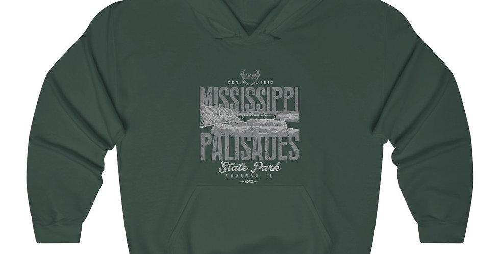 Mississippi Palisades Unisex Heavy Blend™ Hooded Sweatshirt