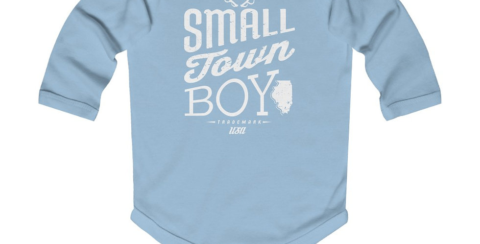 Small Town Boy Infant Long Sleeve Bodysuit