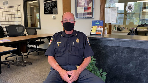 Savanna Police Chief Jeff Doran