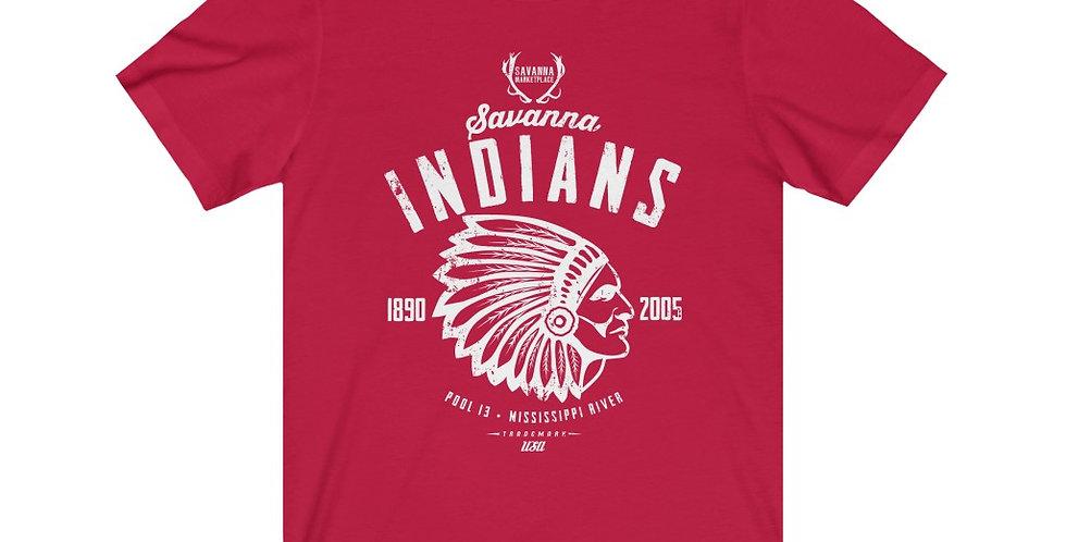 Savanna Indians Unisex Jersey Short Sleeve Tee