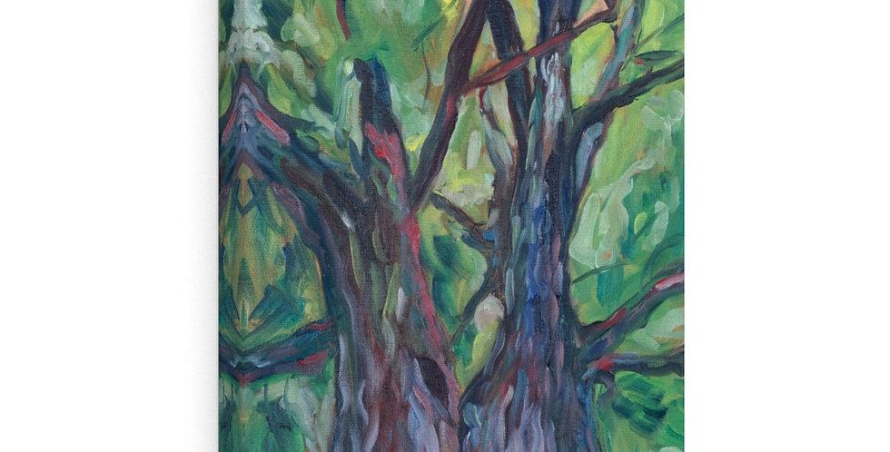 Tree Goddess Canvas Gallery Wraps