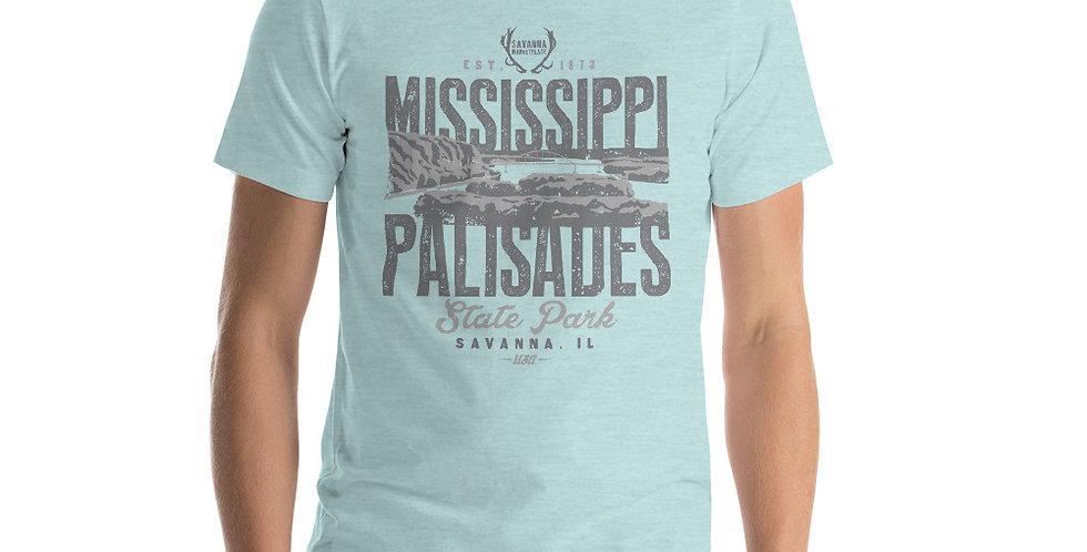 Mississippi Palisades Short-Sleeve Unisex T-Shirt