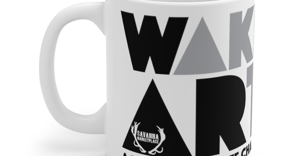 Wake Art Against Climate Change Mug 11oz.