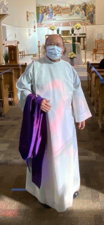 Father Moises, St.John's Parish