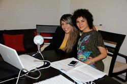 Clara Tellez y Sacha Nairobi