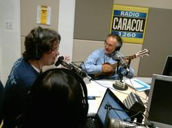 En el estudio con Enrique Hidalgo