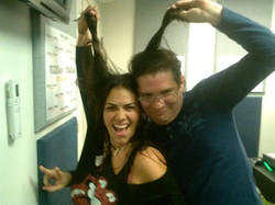Trudy Miquelerena y Jaime Fonseca