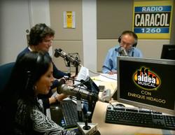 Con Enrique Hidalgo
