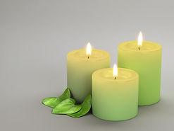Trio de bougies