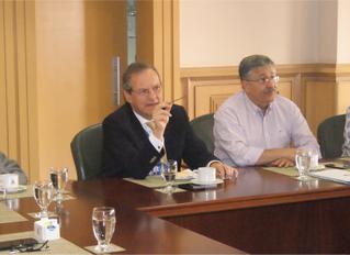 Reunión con presidente de Metrocali