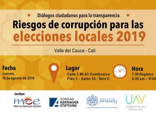 Conversatorio sobre corrupción