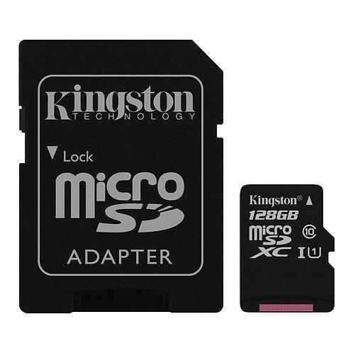 Kingston - 128GB Micro SD Card (SDHC)