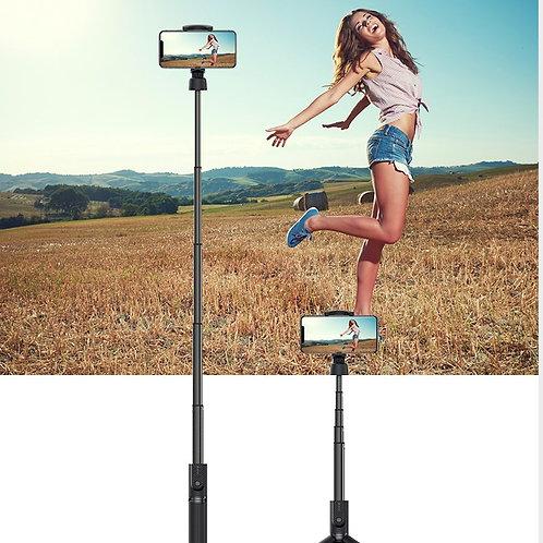 Devia - Bluetooth Selfie Stick & Tripod - Black
