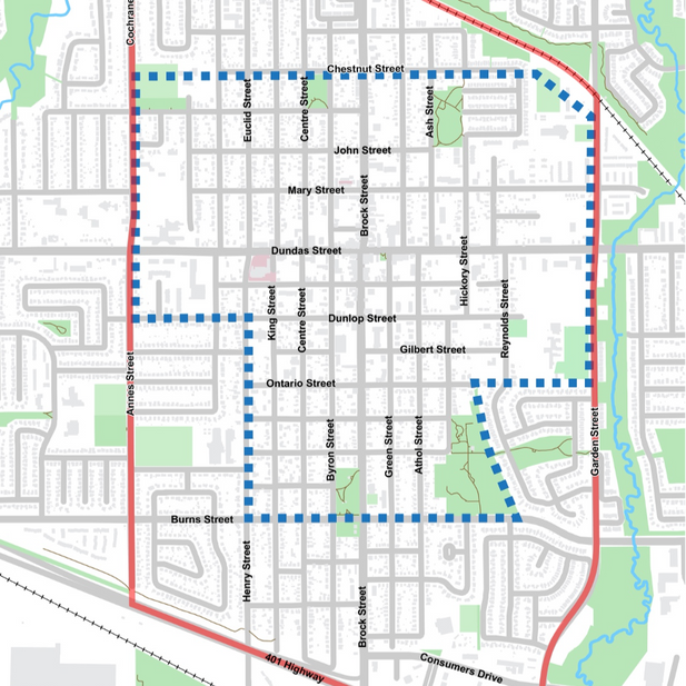 Downtown Whitby Secondary Plan
