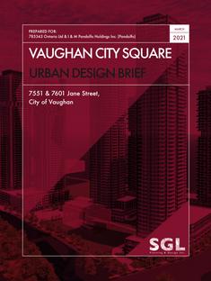Vaughan City Square Urban Design Brief
