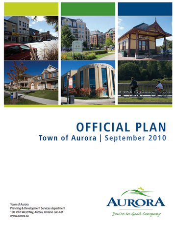 Town of Aurora Official Plan Review