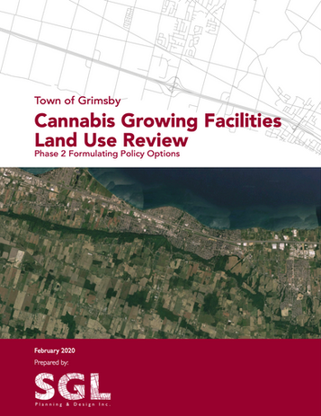 Grimsby Cannabis Growing Facilities Land Use Review